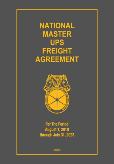 UPS Freight Contract